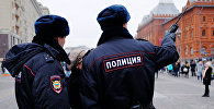 Сотрудники полиции РФ. Архивное фото