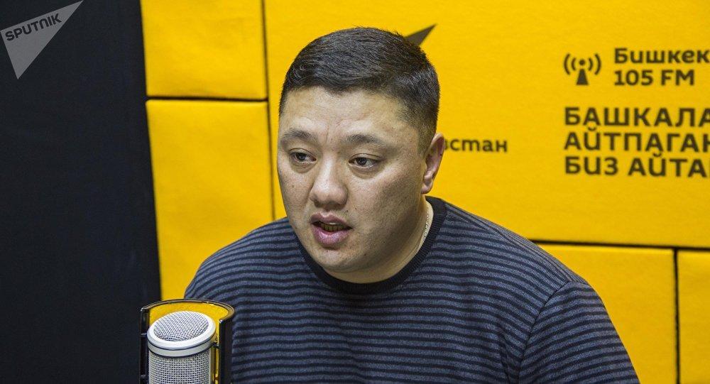 Старший мастер санитарной очистки МП Тазалык Азамат Эркинбаев