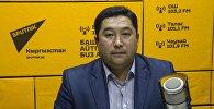 Кыргызстандын Улуттук электр тармагынын долбоорлорду ишке ашыруучу тобунун башчысы Рустанбек Раимкулов