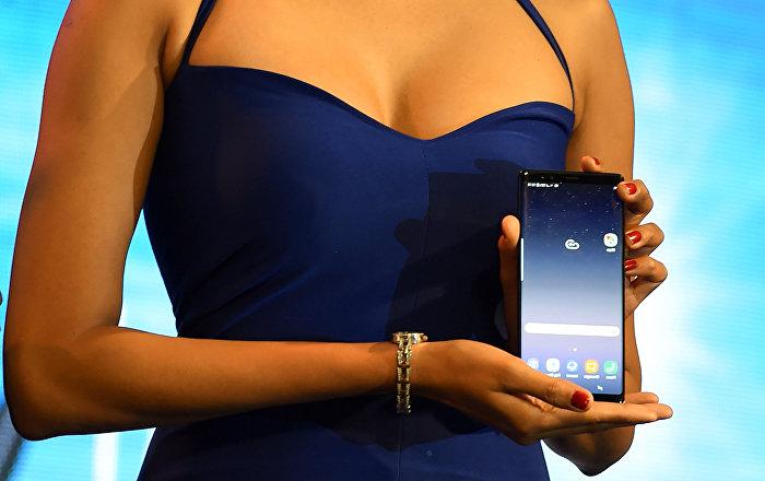 Samsung Galaxy Note 8 телефонунун презентациясы. Архив