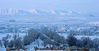 Вид на село в Кочкорском районе Нарынской области. Архивное фото