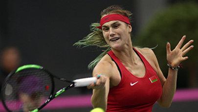 Архивное фото теннисистки Арины Соболенко