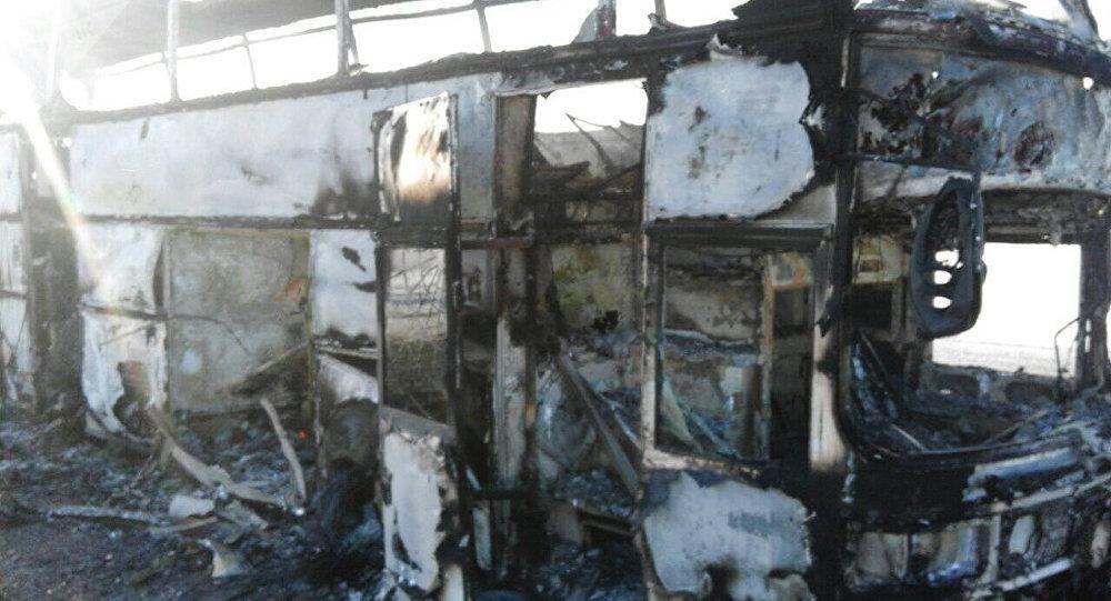 ВКазахстане 52 человека погибли сзагоревшемся автобусе: первые детали ужасногоЧП