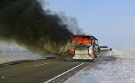 Актөбө облусунда 52 кишинин өмүрүн алган автобустагы өрт