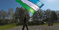 Военнослужащий команды Узбекистана на учениях. Архивное фото