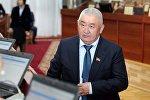 Депутат Зарылбек Рысалиев. Архивдик сүрөт