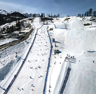 Экстрим-парк в олимпийском парке. Архивное фото