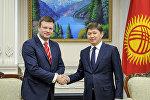 Премьер-министр Сапар Исаков бүгүн Финландиянын парламенттик делегациясы менен жолугушту