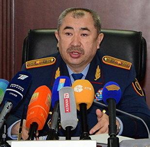 Заместитель министра внутренних дел РК Ерлан Тургумбаев