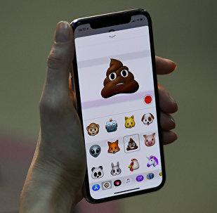 Телефоны iPhone X. Архивное фото