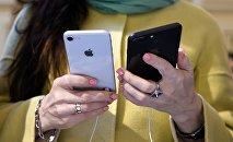 Смартфоны iPhone. Архивное фото