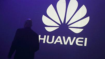 Логотип Huawei. Архивное фото