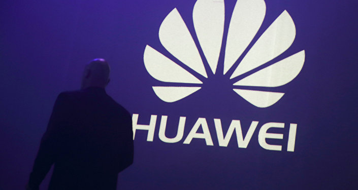 Логотип компании Huawei Technologies. Архивное фото