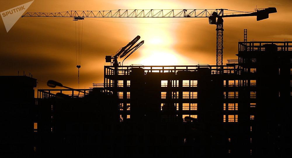 Строительство жилого комплекса. Архивное фото