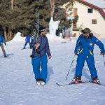 Каракол лыжа базасын Россия жана Казакстандан келген туристтер абдан жакшы көрүшөт