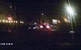 Токтогул жана Панфилов көчөлөрүнүн кесилишинде эки автоунаа кагышты