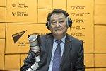 Саламаттык сактоо министри Талантбек Батыралиев маек учрунда