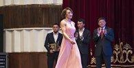 Кыз-келиндер күрөшү боюнча дүйнө чемпиону Айсулуу Тыныбекова. Архив