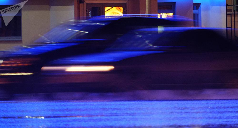 Автомобили на дороге во время движения. Архивное фото
