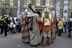 Участники фестиваля кочевников. Архивное фото