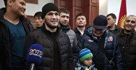 В Кыргызстан прилетел известный российский боец UFC Хабиб Нурмагомедов
