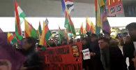 Курды и сторонники Эрдогана подрались в аэропорту Ганновера