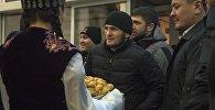 Визит известного бойцы UFC Хабиба Нурмагомедова в Бишкек