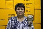 Бишкек мэриясынын Борборлоштурулган китепканалар тармагынын башчысы Күлсайра Дандыбаева