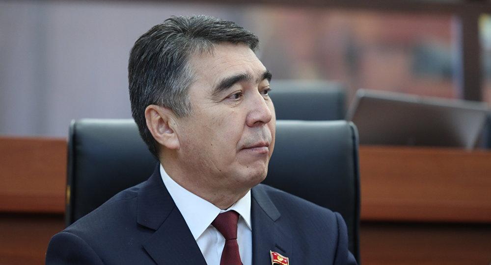 Жогорку Кеңештин депутаты Абдыбек Дүйшалиев. Архив