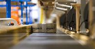 Amazon интернет-дүкөнүндүн конвейери. Архив