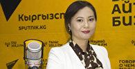 Телеведущая, диктор телеканала НТС Айнура Кабатай кызы
