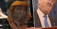 Необычный парикмахер рисует на головах клиентов — видео