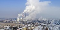Сбои на ТЭЦ Бишкека из-за отказа оборудования подачи подпиточной воды для старых котлоагрегатов. Архивное фото