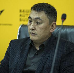 Архивное фото экс-директора ТЭЦ Бишкека Нурлана Омуркул уулу