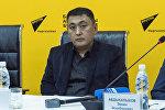 Бишкек жылуулук электр борборунун башкы директору Нурлан Өмүркул уулунун архивдик сүрөтү