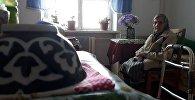 Постояльцы государственного дома престарелых в Бишкеке
