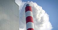 Трубы Бишкекского теплоэлектроцентраля
