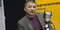 Поэт, журналист Зайырбек Ажыматов. Архивное фото