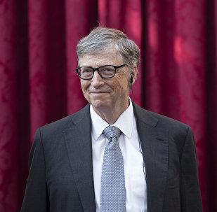 Америкалык миллиардер жана Microsoft компаниясынын негиздөөчүсү Билл Гейтс. Архивдик сүрөт