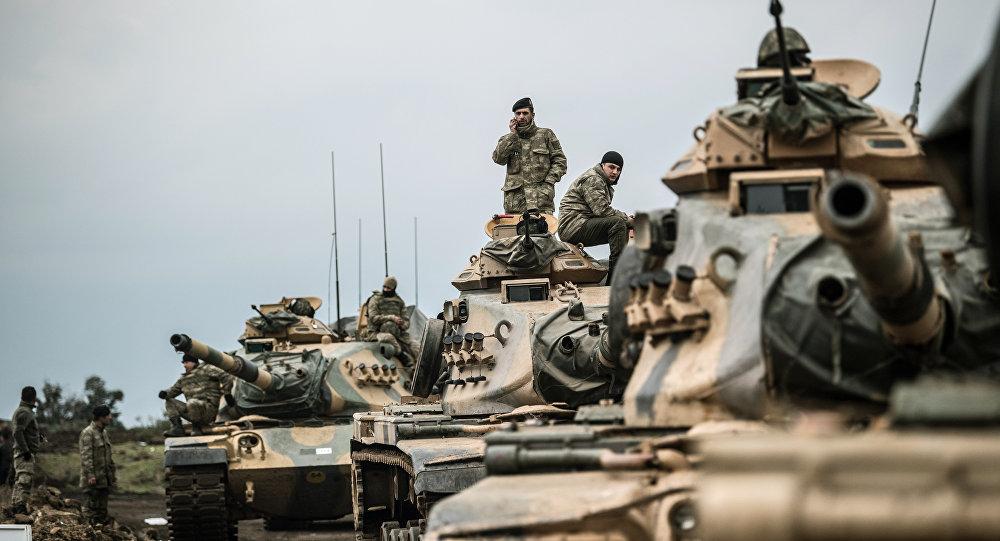 Военнослужащие Турецкой армии. Архивное фото