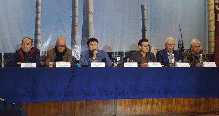 Пресс-конференция на ТЭЦ Бишкека — прямая трансляция