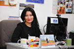Тopsport.kg сайтынын жетекчиси, Sports Awards долбоорунун автору Динара Орозбаева