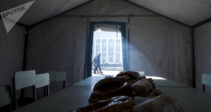 Пункты обогрева в Бишкеке