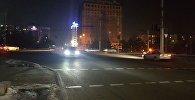 Отключение фонарей на некоторых улицах Бишкека