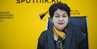 Улуттук фтизиатрия борборунун дарыгери Гүлайым Абдылдаева
