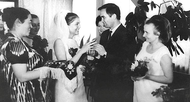Церемония бракосочетания Ислама и Татьяны Каримовых