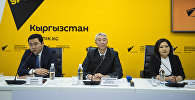Пресс-конференция Модернизация аэропортов Кыргызстана — итоги года и планы