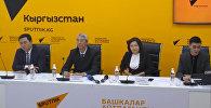 Итоги работы аэропортов КР за 2017 год обсудили в Sputnik Кыргызстан
