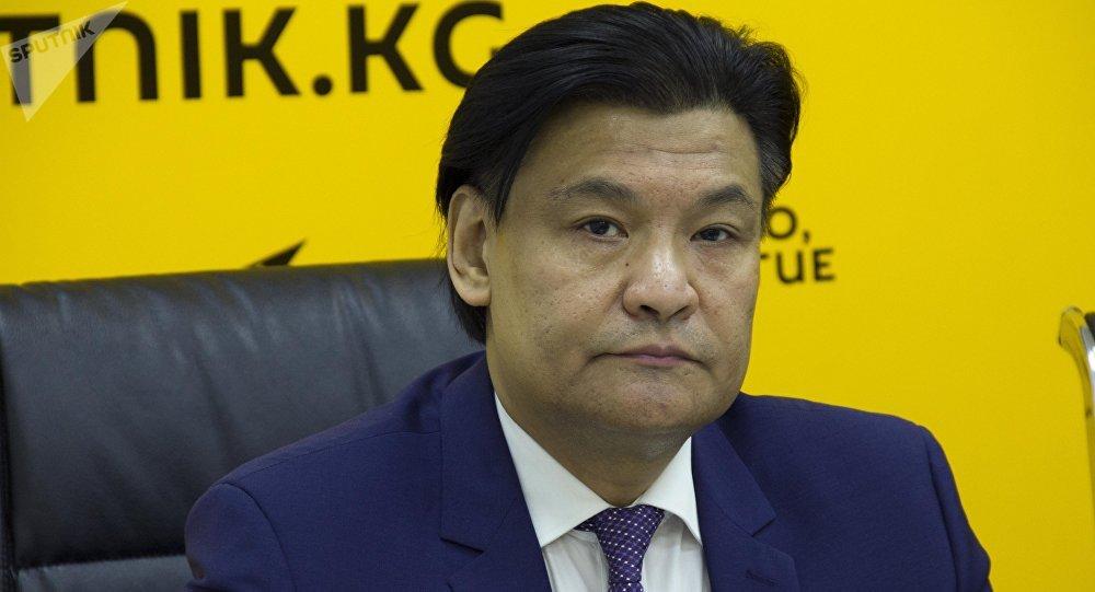 Экономист Кубат Рахимов. Архивное фото