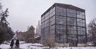 Оранжерея Ботанического сада имени Энвера Гареева в Бишкеке. Архивное фото